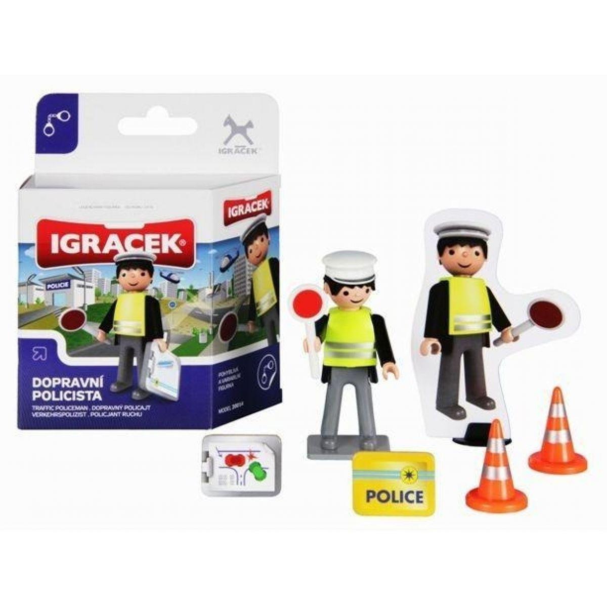 Igráček Dopravní policista mini