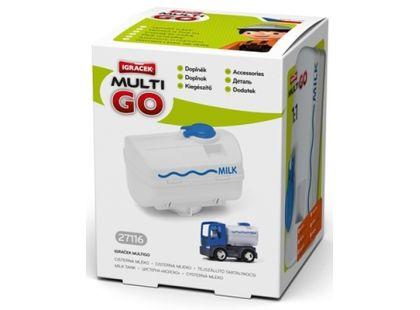 Igráček Multigo Cisterna mléko