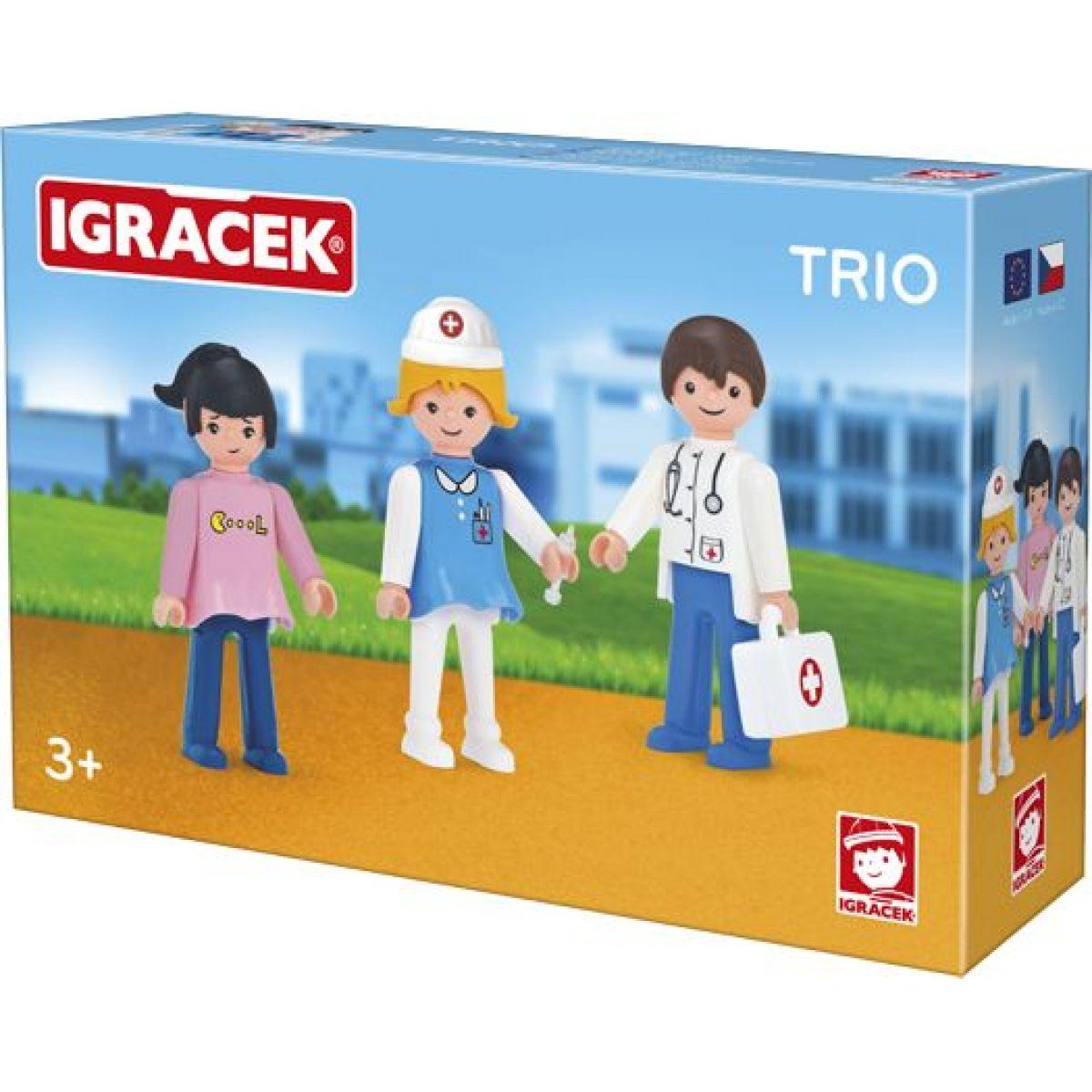Igráček nová řada Trio - léčíme