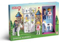 Igráček Šípková Růženka kreativní set s pohádkou