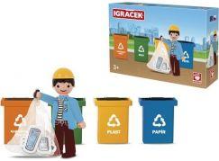 Igráček Trio Třídíme odpad