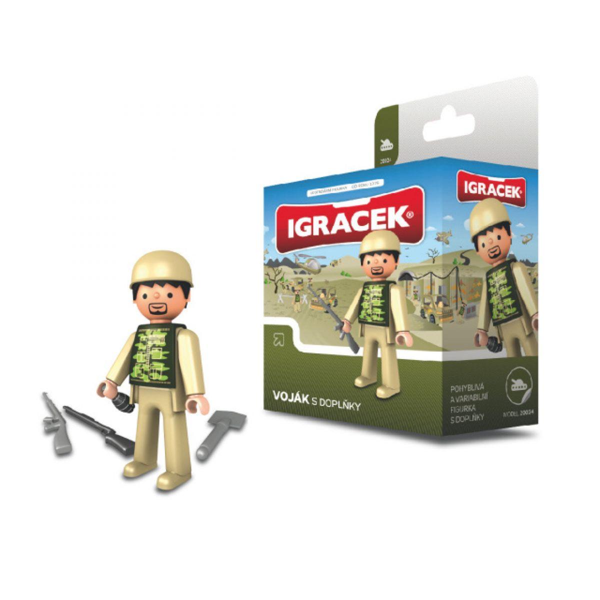 Igráček Voják s doplňky