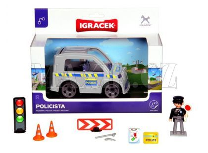 Igráček Policista s autem
