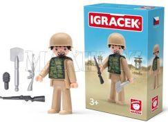 Igráček Voják a doplňky