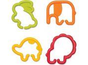 Infantino Kroužky spojovací zvířátka 24 ks žluté