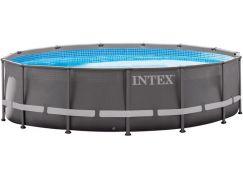 Intex 26332 Bazén kruhový s rámem Ultra frame 5,49 m x 1,32 m