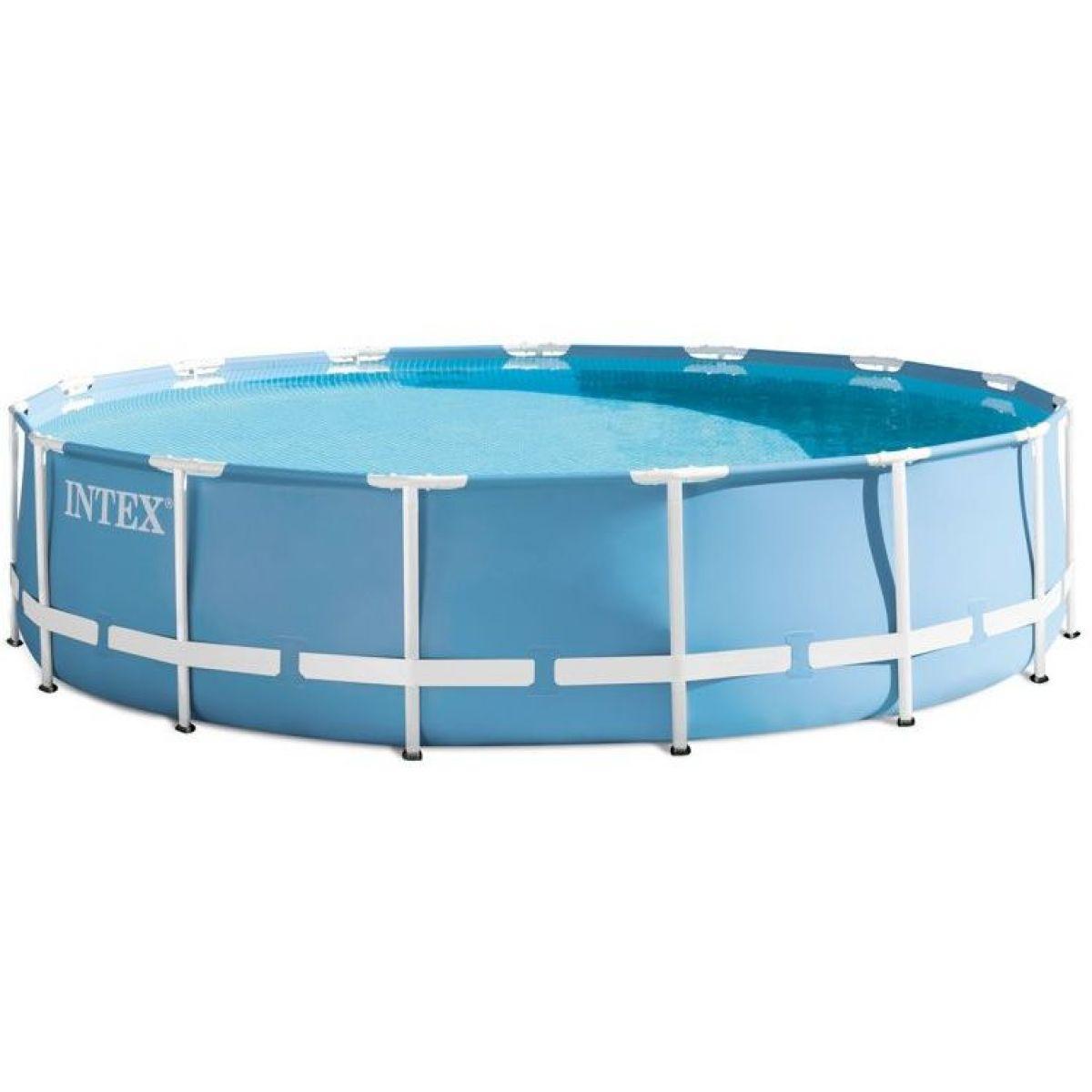 Intex 26728 Bazén kruhový s rámem Prism frame 4,57 m x 84 cm