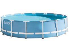 Intex 26734 Bazén kruhový s rámem Prism frame 4,57 m x 1,07 m