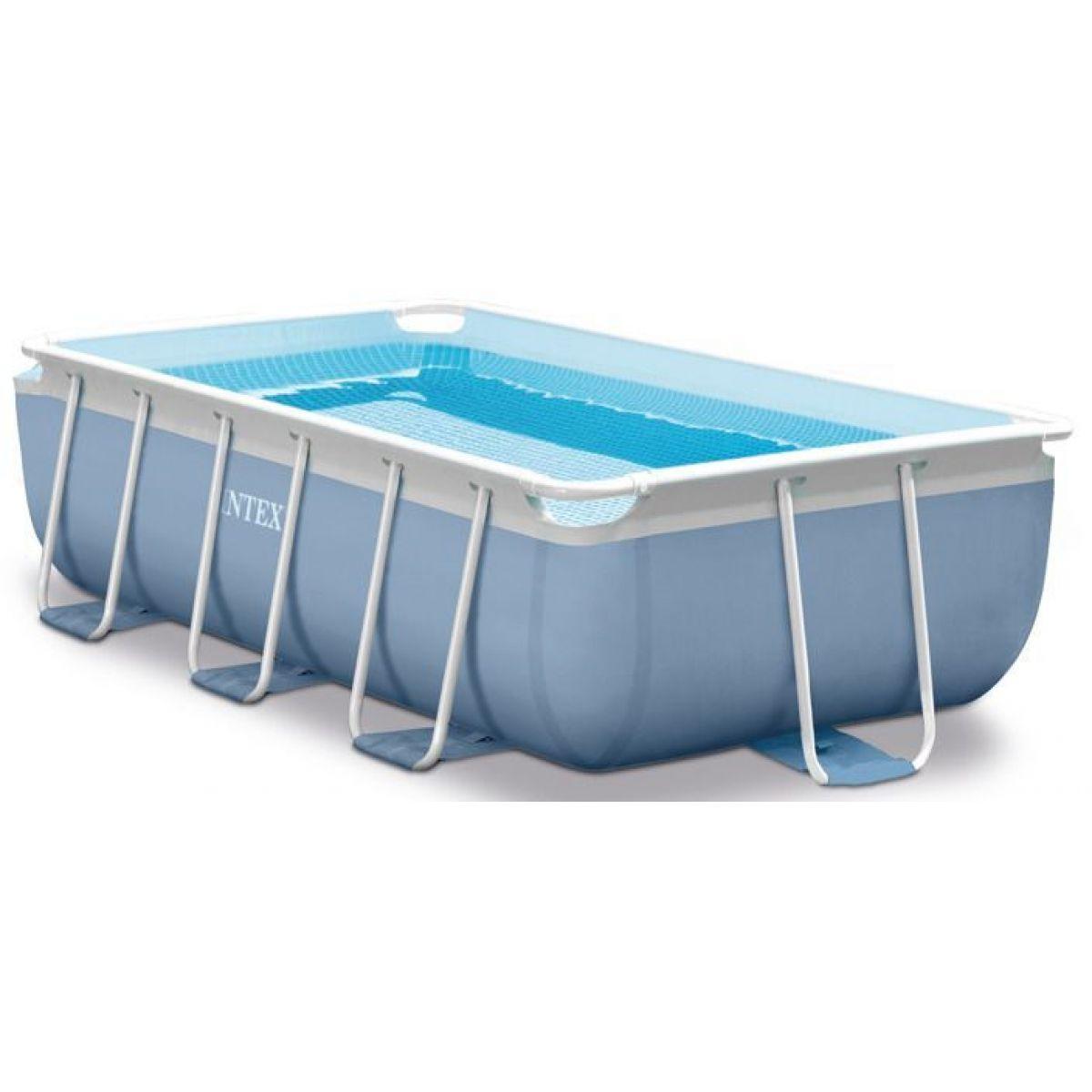 Intex 26772 Bazén obdélníkový s rámem Prism frame 3 m x 1,75 m x 80 cm