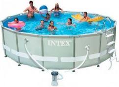 Intex 28310 Bazén s tvrzeným rámem 427x107cm