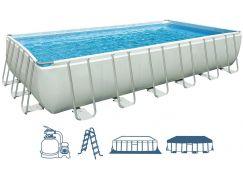 Intex 28362 Bazén obdélníkový s tvrzeným rámem 732x366x132cm
