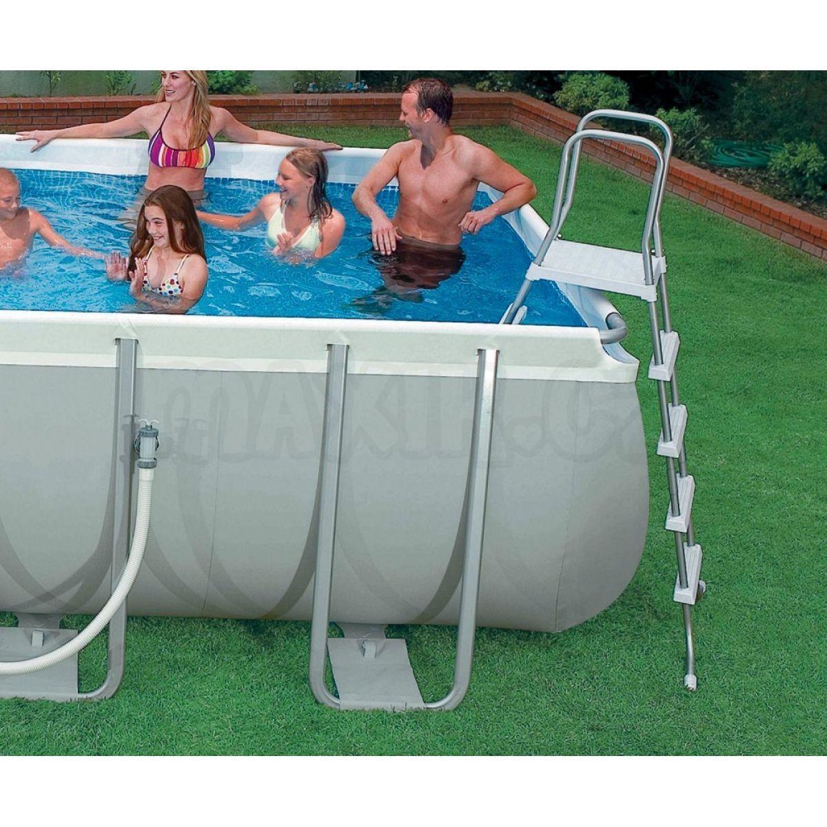 intex 28362 ultra frame pool 732 x 366 x 132 cm max kovy hra ky. Black Bedroom Furniture Sets. Home Design Ideas