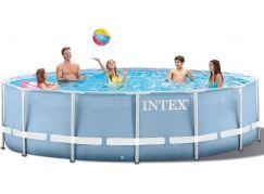 Intex 28728 Bazén Prism Frame s příslušenstvím 457x84cm