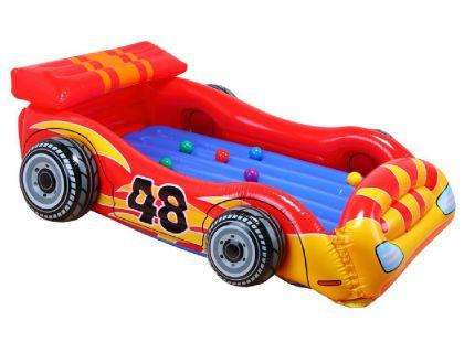 Intex 48665 Nafukovací postel Formule s 10 míčky 183x30cm