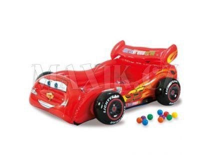 Intex 48667 Nafukovací postel Cars s 10 míčky 180x145cm