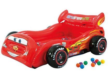 Intex 48668 Cars Nafukovací postel s míčky