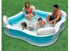Intex 56475 Bazén rodinný s křesílky 229x229cm 2