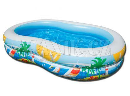 Intex 56490 Bazén rajská laguna 262x160cm
