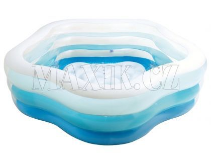 Intex 56495 Bazén barevný pětiúhelník 185x180cm