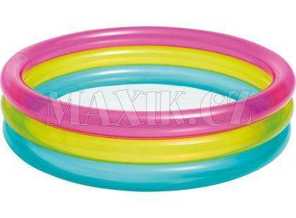 Intex 57104 Bazén kruhový průhledný 86x25cm