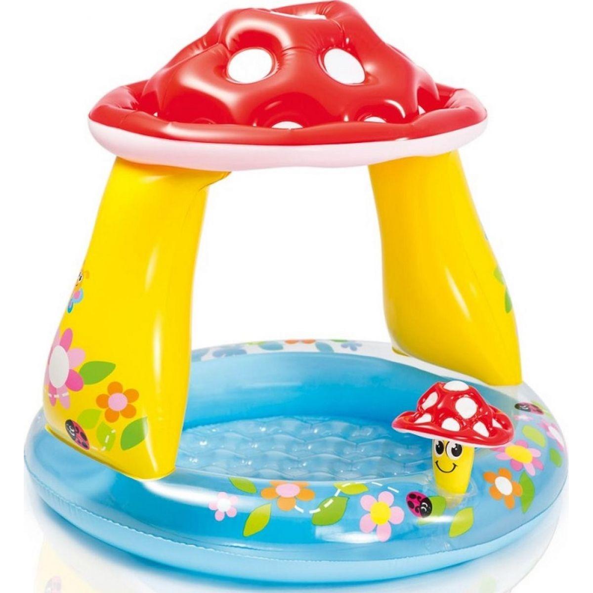 Intex 57114 Dětský bazének Muchomůrka