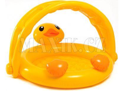 Intex 57121 Dětský bazén Kačenka 117x112x69cm
