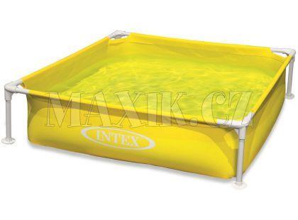 Intex 57172 Dětský bazén s rámem 122x122x30cm