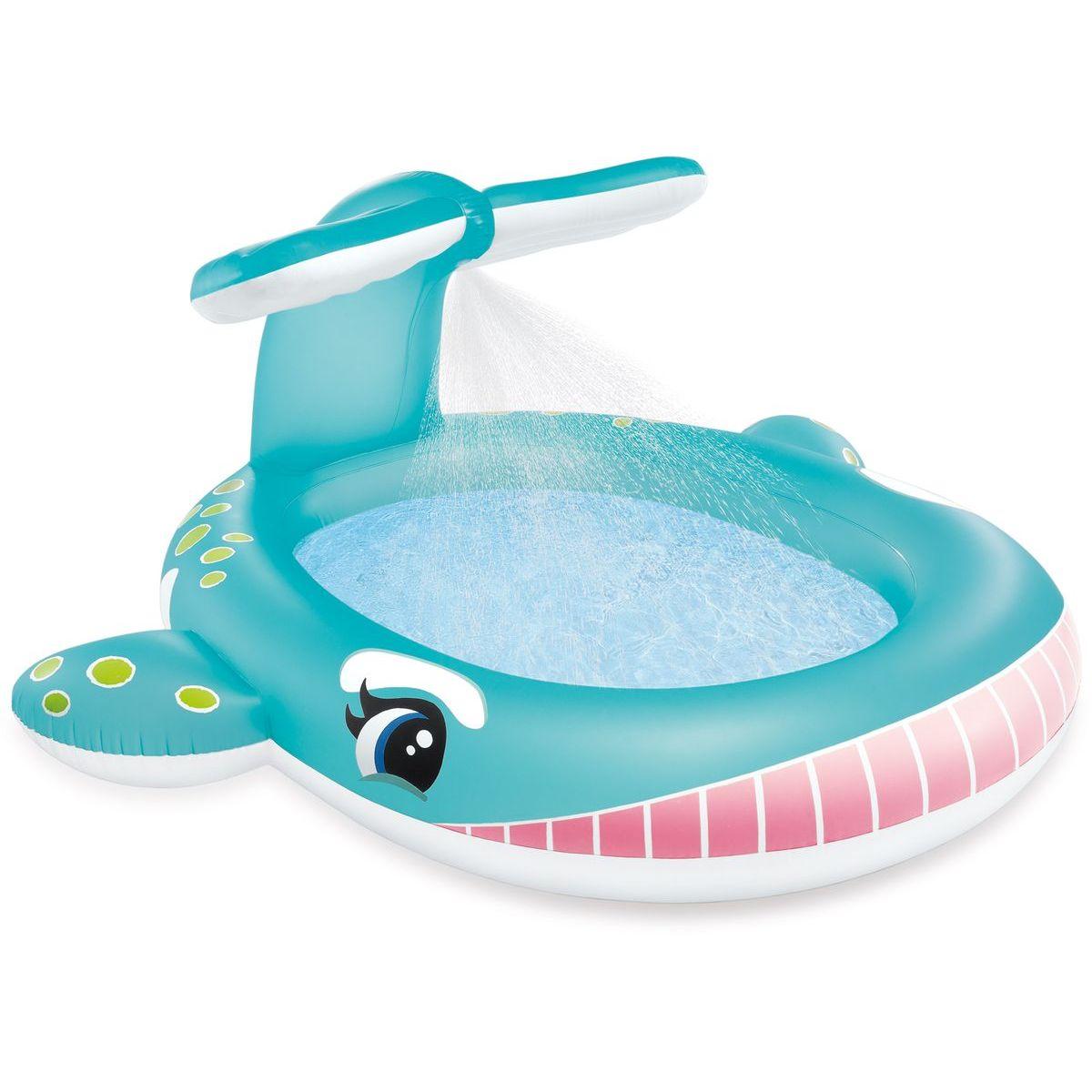 Intex 57440 Bazén dětský s rozstřikováním Velryba