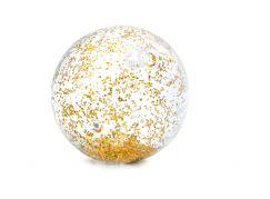 Intex 58070NP Balón nafukovací flitrový Zlatý