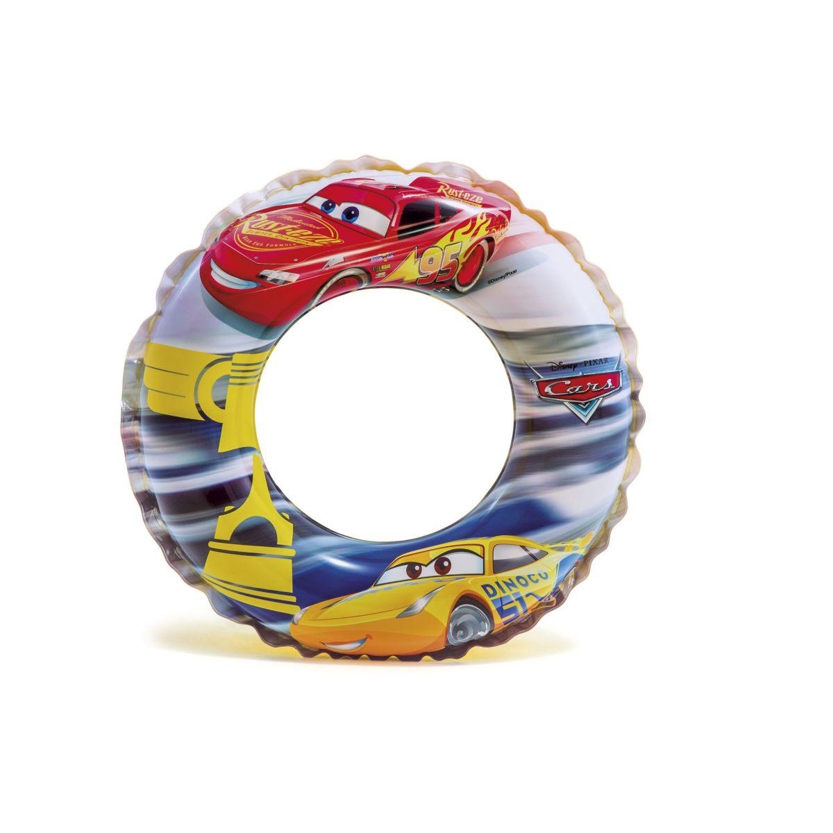 Intex 58260 Plovací kruh Cars 51 cm Blesk McQueen a Dinoco