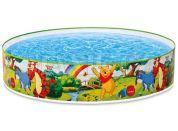 Intex 58475 Bazén Medvídek Pú a přátelé 122x25cm