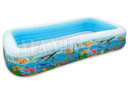 Intex 58485 Bazén rodinný s rybičkami 305x183cm