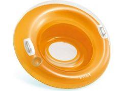 Intex 58883 Nafukovací sedátko kruh 119cm Oranžová