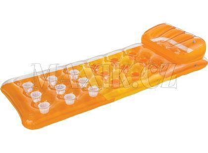 Intex 58890 Barevná nafukovací matrace - Oranžová