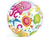 Intex 59040 Nafukovací míč barevný 51cm Chobotnice