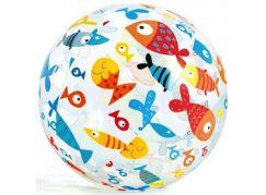 Intex 59040 Nafukovací míč barevný 51cm Ryby