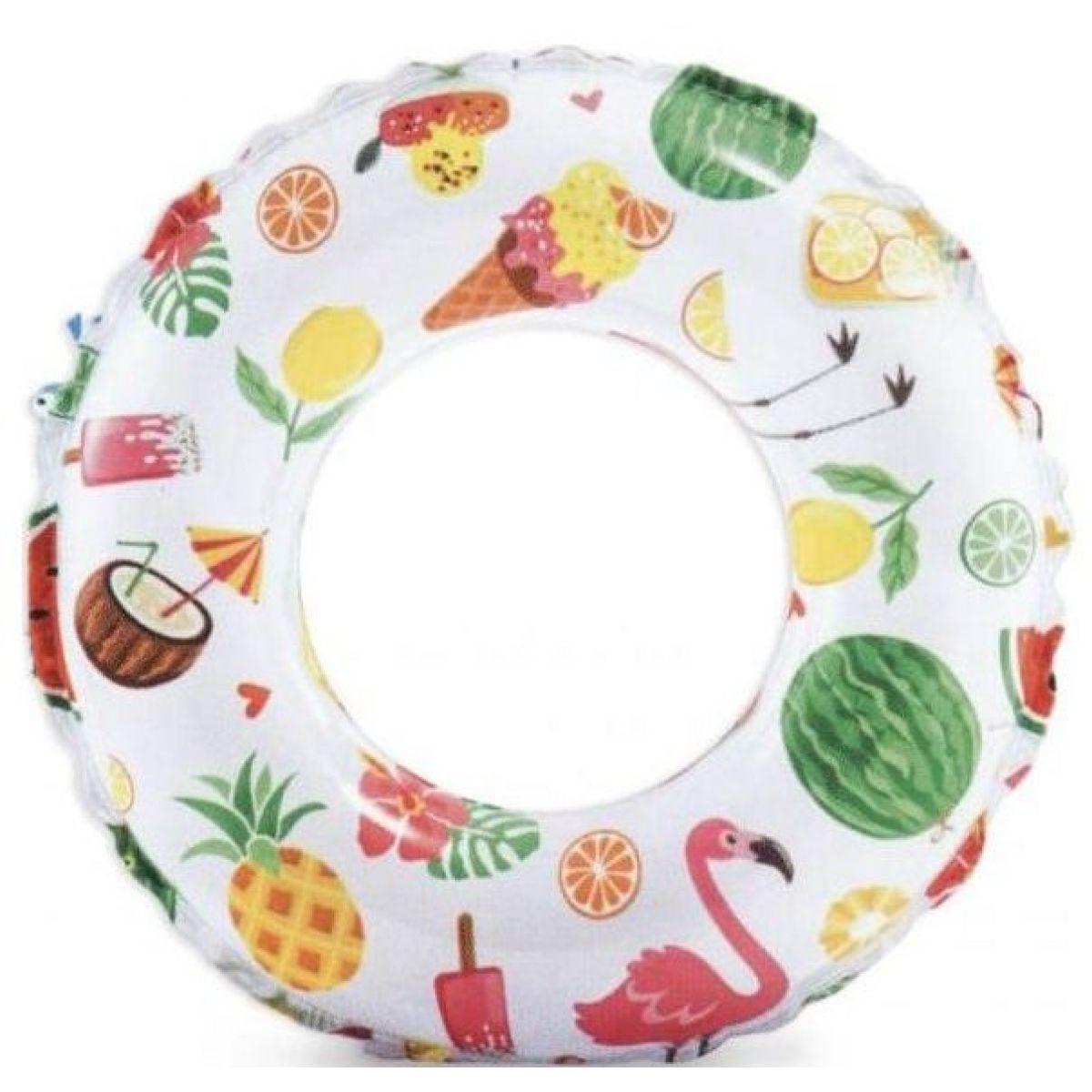 Intex 59241 Plovací kruh 61 cm ovoce