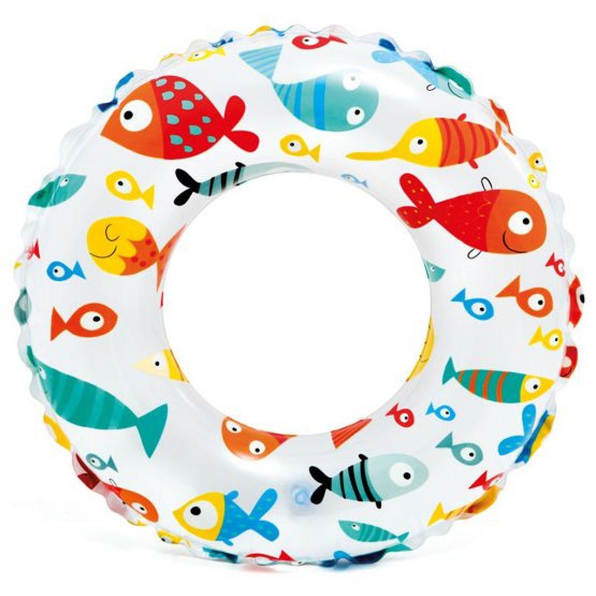 Intex 59241 Plovací kruh 61 cm rybičky
