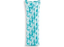 Intex 59712 Nafukovací matrace mozaika 183x69cm modrá