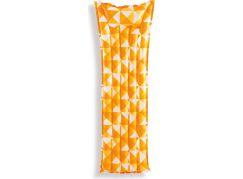 Intex 59712 Nafukovací matrace mozaika 183x69cm oranžová