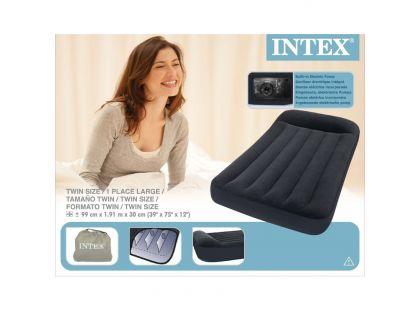 Intex 66779 Nafukovací postel s pumpou Twin Classic 191x99x30cm