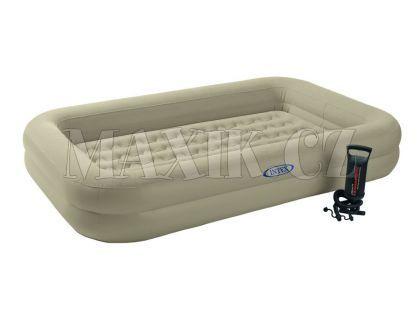Intex 66810 Nafukovací postel Travel 168x107x25cm