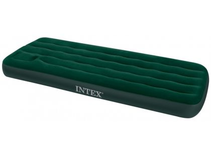 Intex 66927 Nafukovací postel s pumpou Twin Downy Bed 191x99x22cm