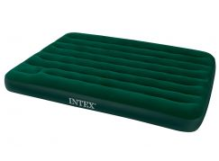 Intex 66928 Nafukovací postel s pumpou Full Downy Bed 191x137x22cm