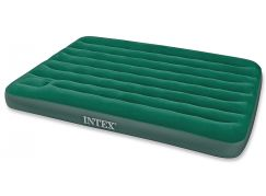 Intex 66929 Nafukovací postel s pumpou Queen Downy Bed 203x152x22cm
