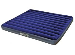 Intex 68755 Nafukovací postel King Classic Downy 203x183x22cm