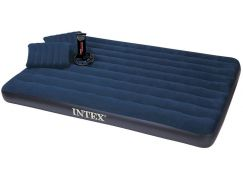 Intex 68765 Nafukovací postel s pumpou Queen Downy Bed