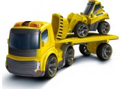 I/R Nákladní auto + buldozer Silverit
