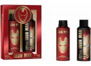 Iron Man tělový sprej 200ml, sprchový gel 250 ml