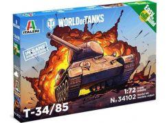 Italeri Easy to Build World of Tanks 34102 T 34 85 1:72